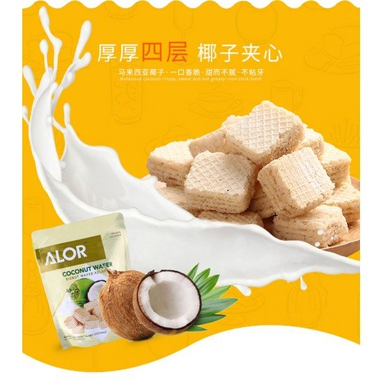 椰子威化餅